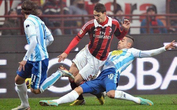 AC Milan có cơ hội lớn để giành 3 điểm trước Pescara