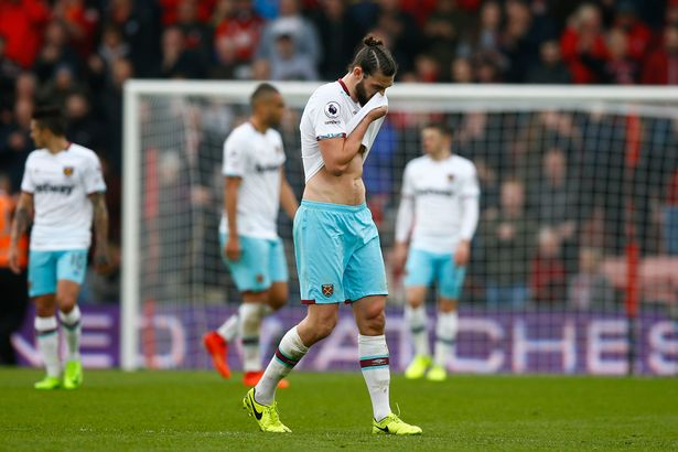 West Ham sa sút ở 3 trận gần đây