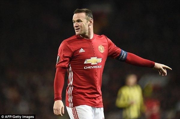 Phần lớn CĐV M.U muốn đẩy Rooney khỏi Old Trafford