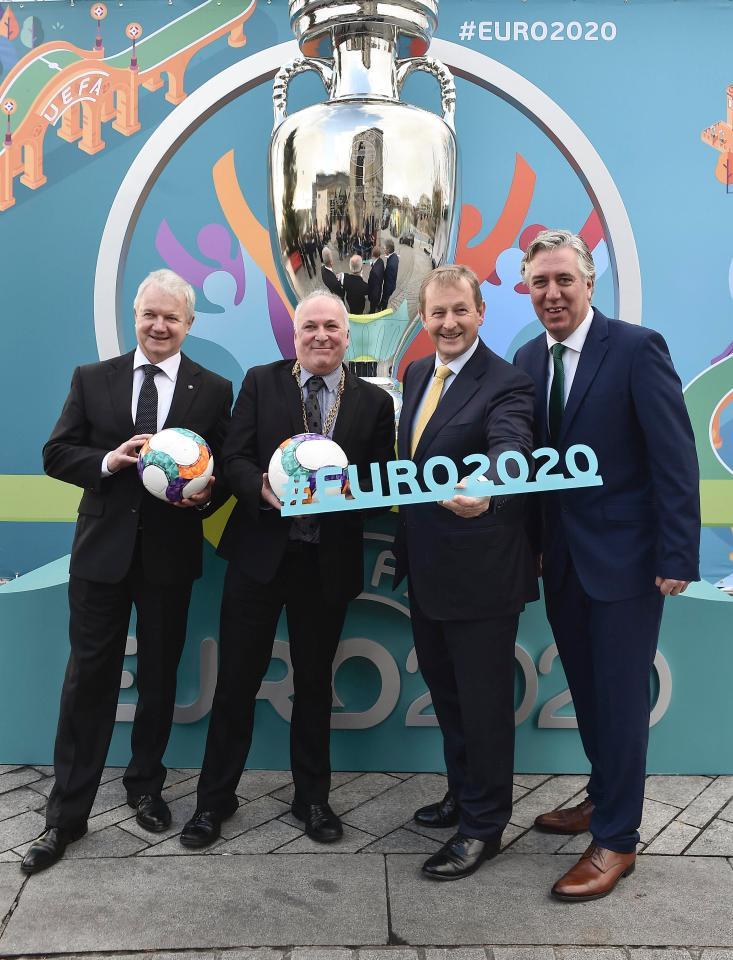 Euro 2020 sẽ diễn ra ở nhiều thành phố châu Âu