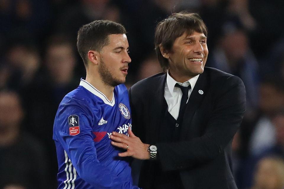 Conte và Hazard