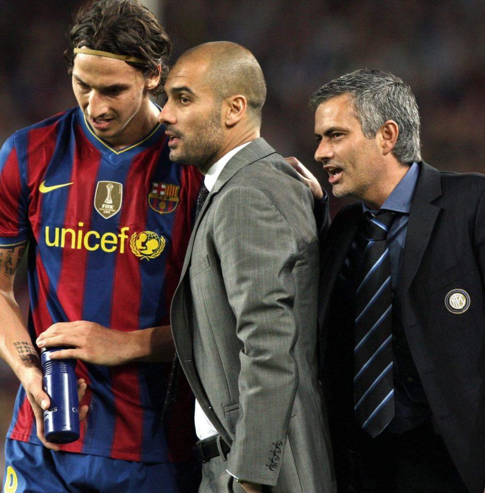 Ibra và Jose Mourinho sẽ phải đánh bại Pep