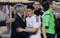James Rodriguez muốn theo chân Carlo Ancelotti tới Bayern Munich