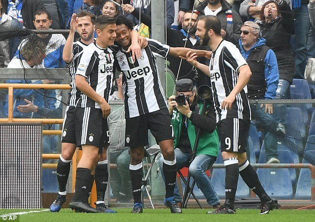 Juventus tiếp tục duy trì phong độ ổn định