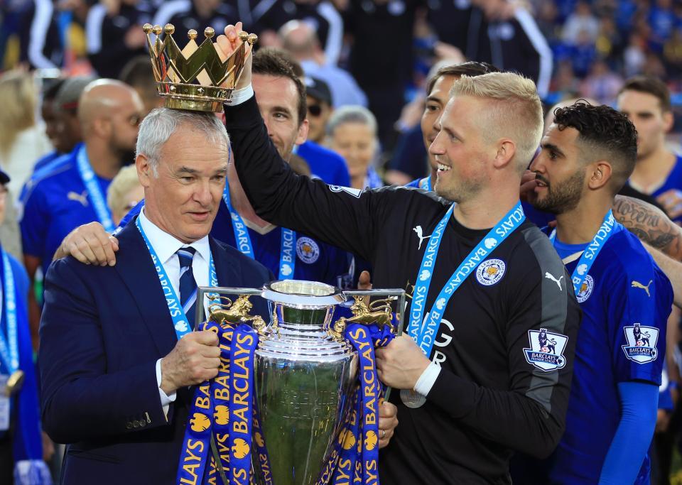 Ranieri đã mang lại chức vô địch Premier League cho Leicester
