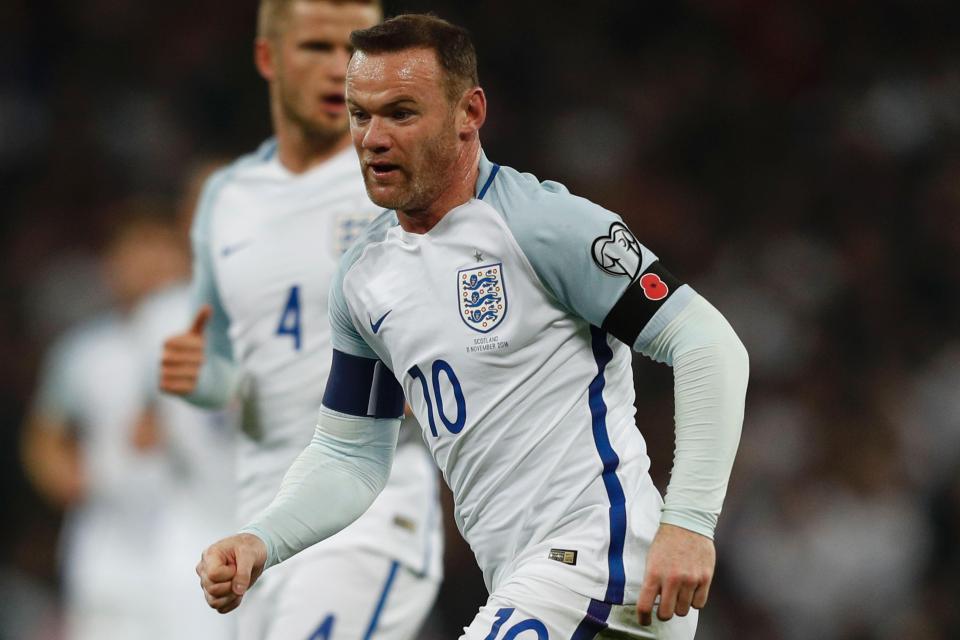 Rooney không còn được đánh giá cao ở đội tuyển Anh