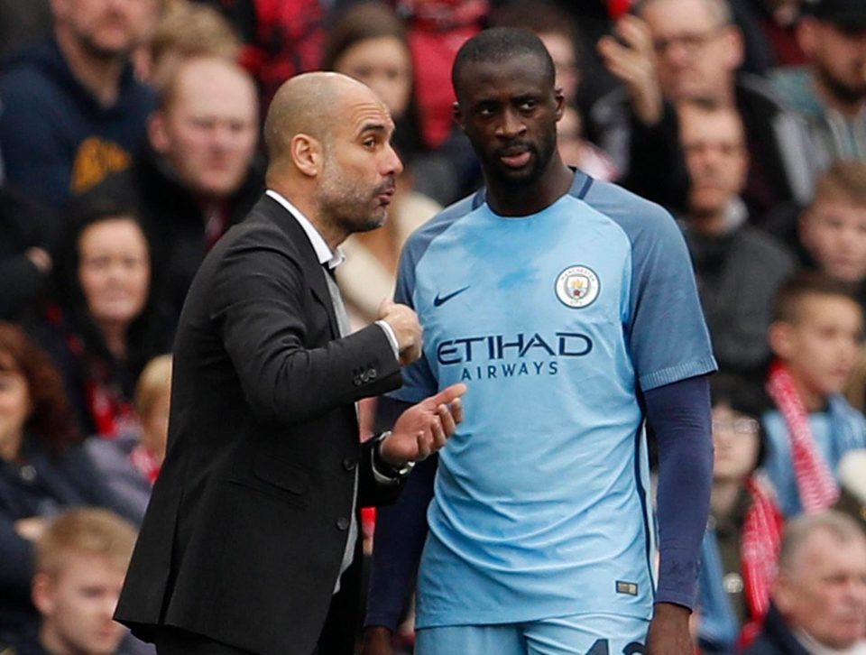 Yaya Toure chắc chắn sẽ rời Man City