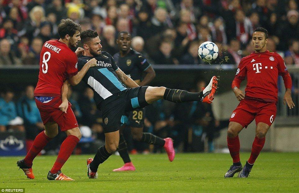 Arsenal cần một phép màu mới có thể đảo ngược tình thế trước Bayern Munich