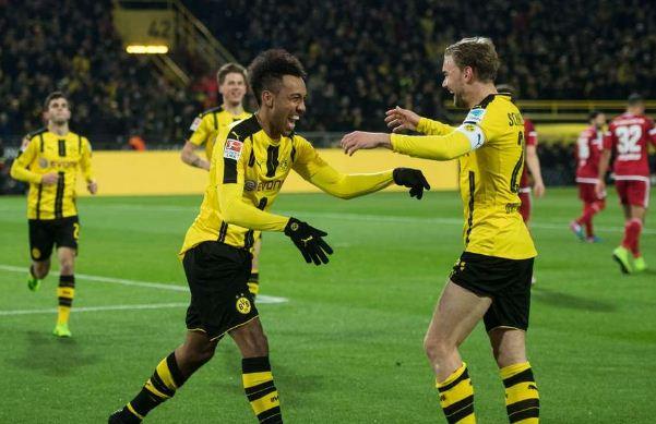Aubameyang ghi bàn giúp Dortmund đánh bại Ingolstadt