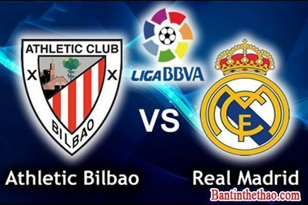 Link sopcast trận Athletic Bilbao - Real Madrid