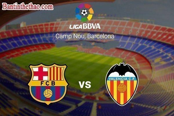 Link sopcast trận Barcelona - Valencia