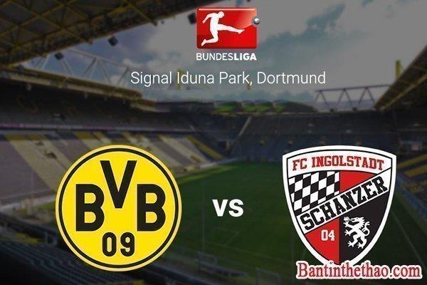 Link sopcast trận Borussia Dortmund - Ingolstadt