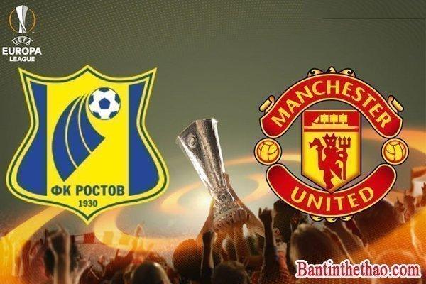 Link sopcast Manchester United (MU) – Rostov 17/3/2017 vòng 1/8 lượt về Cup C2 Châu Âu