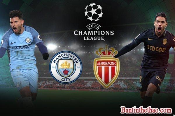 Link sopcast Monaco – Manchester City (MC) 16/3/2017 vòng 1/8 lượt về Cup C1