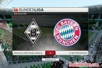 Link sopcast Monchengladbach – Bayern Munich ngày 19/03/2017 Vòng 25 giải bóng đá VĐQG Đức Bundesliga