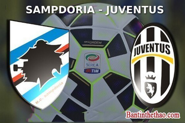 Link sopcast trận Sampdoria - Juventus