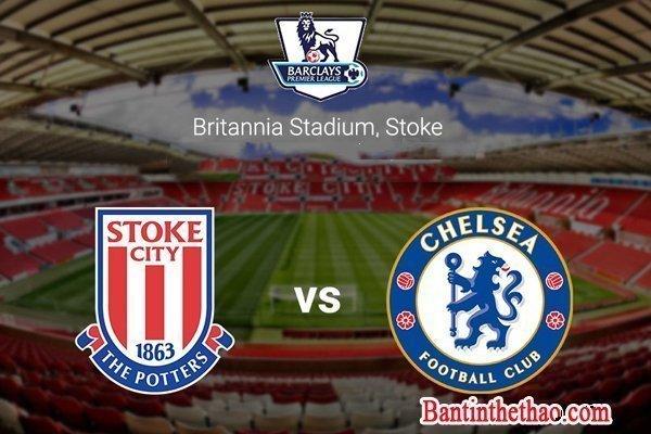 Link sopcast Stoke City- Chelsea ngày 18/03/2017 Vòng 29 giải Ngoại Hạng Anh