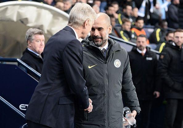 Man City của Pep Guardiola đối đầu Arsenal ở bán kết