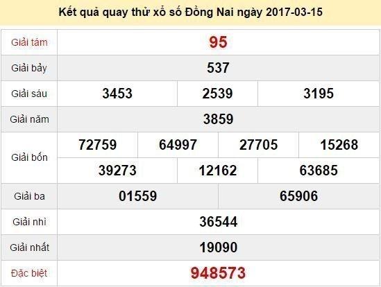 Quay thử KQ xổ số miền Nam - xổ số Đồng Nai