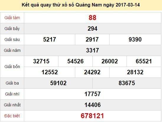 Quay thử KQXS miền Trung - Xổ số Quảng Nam