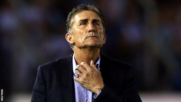 Bauza đã bị Argentina sa thải