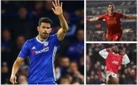 50 bàn cũng không giúp Diego Costa trở thành số 1