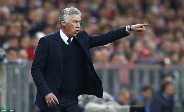 Ancelotti chưa từ bỏ hy vọng cạnh tranh tấm vé vào bán kết Champions League