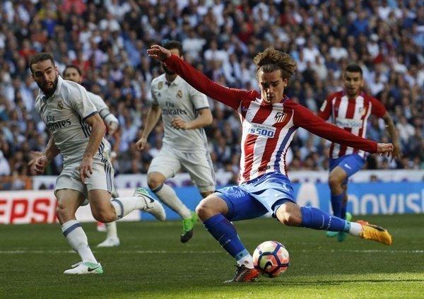 M.U xác định Griezmann của Atletico Madrid là ưu tiên tuyển mộ hàng đầu