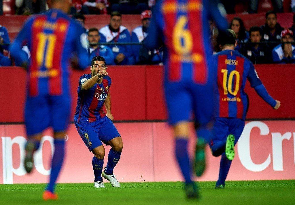 Sức tấn công của Barcelona tiếp tục tàn phá các hàng phòng ngự