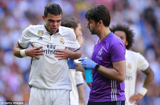 Real Madrid sẽ không có Pepe