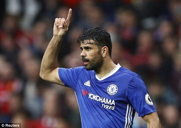 Chelsea lo ngại Costa bị xao lãng vì những lời đề nghị hấp dẫn từ Trung Quốc