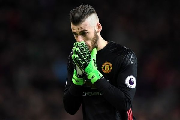 De Gea không hạnh phúc với HLV Mourinho