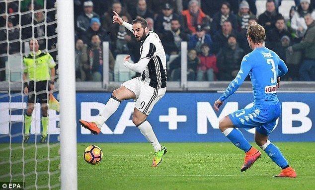 Juventus có lợi thế lớn sau chiến thắng 3-1 ở lượt đi