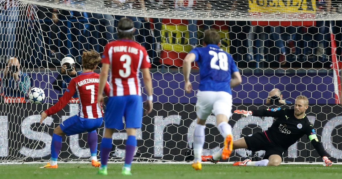 Chỉ thắng Leicester 1-0 nên Atletico cần phải giữ sức cho trận lượt về