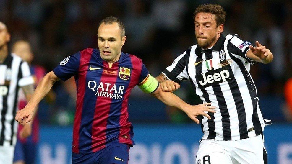 Juventus gặp lại Barcelona kể từ chung kết Champions League năm 2015