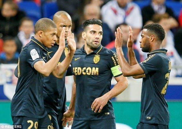 Phong độ cao của Kylian Mbappe và Falcao giúp Monaco thi đấu thăng hoa