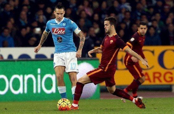 Marek Hamsik tin Napoli có đủ khả năng để chiếm vị trí thứ 2 của Roma