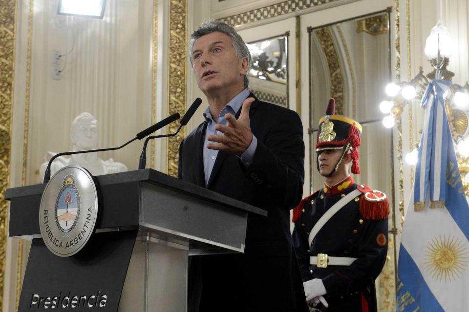 Tổng thống Argentina, Mauricio Macri