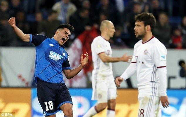 Hoffenheim tiếp tục thể hiện phong độ ấn tượng mùa này
