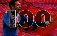 Neymar vào CLB 100 bàn của Barcelona