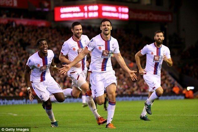 Palace đã thắng 2 trận gần đây ở Anfield