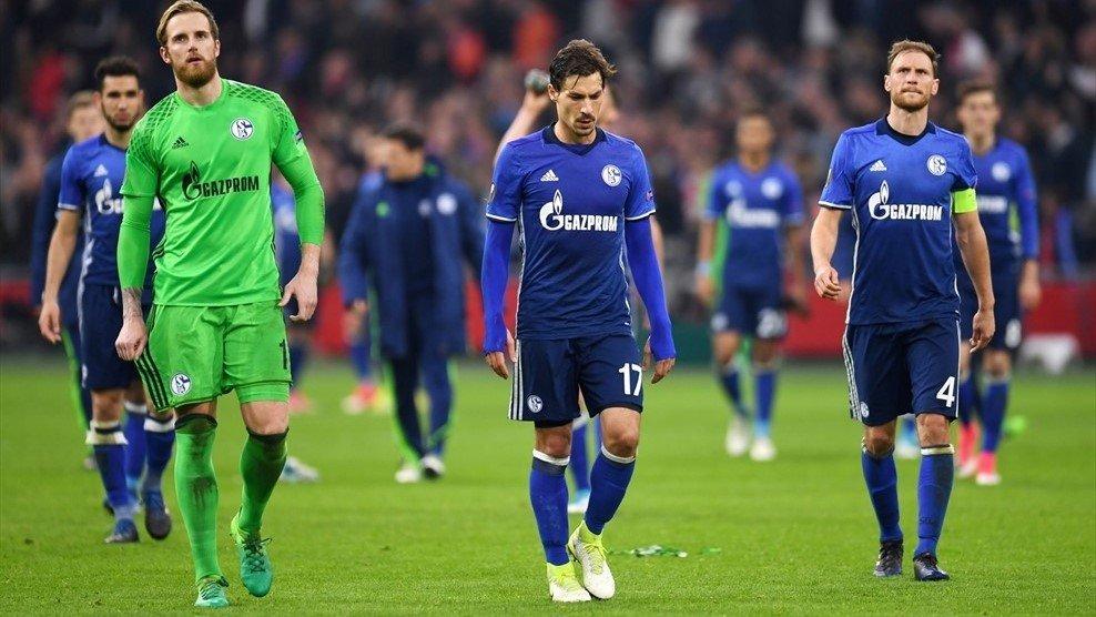 Schalke đã để thua 0-2 ở lượt đi