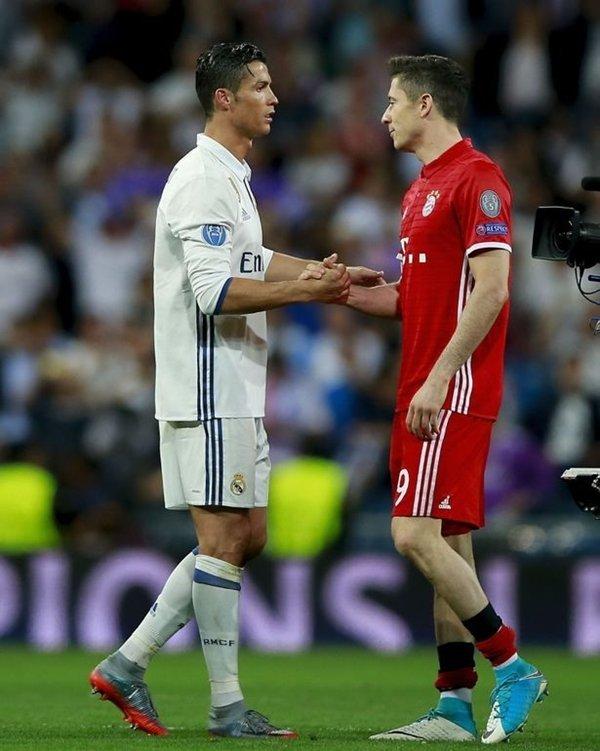 Ronaldo khuyên Lewandowski gia nhập Real Madrid