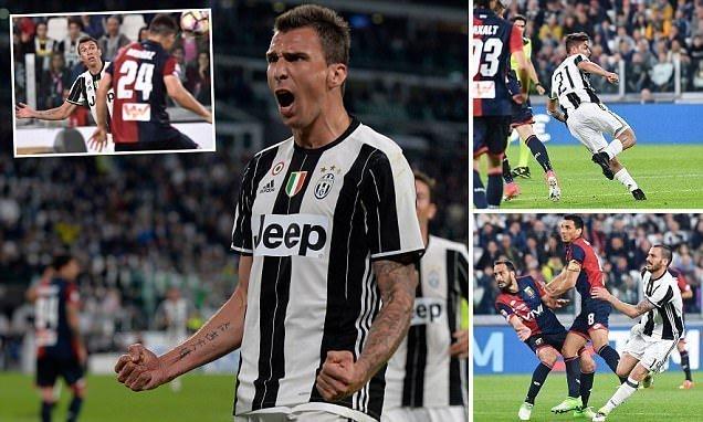 Đại thắng Genoa, Juventus xây chắc ngôi đầu