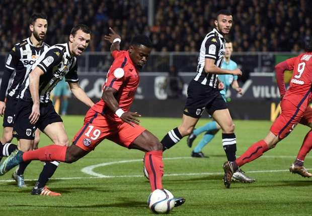 Angers - PSG ngày 15/4/2017 giải bóng đá VĐQG Pháp League 1