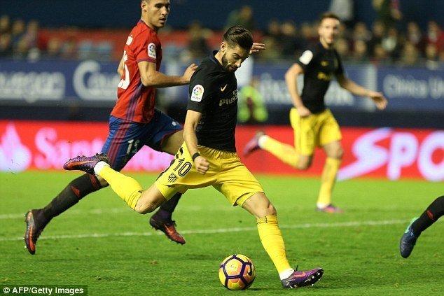 Atletico Madrid – Osasuna  ngày 15/4/2017 Vòng 32 giải VĐQG Tây Ban Nha TBN La Liga