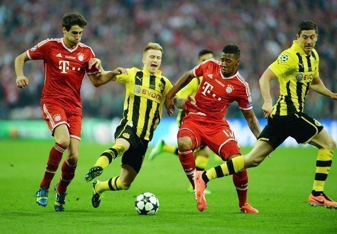 Bayern Munich - Dortmund ngày 8/4/2017