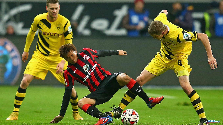 Dortmund - Frankfurt ngày 15/4/2017 Vòng 29 giải bóng đá VĐQG Đức Bundesliga