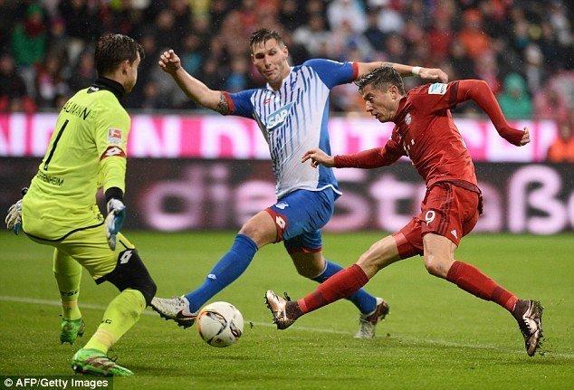Link sopcast  Hoffenheim - Bayern Munich ngày 5/4/2017