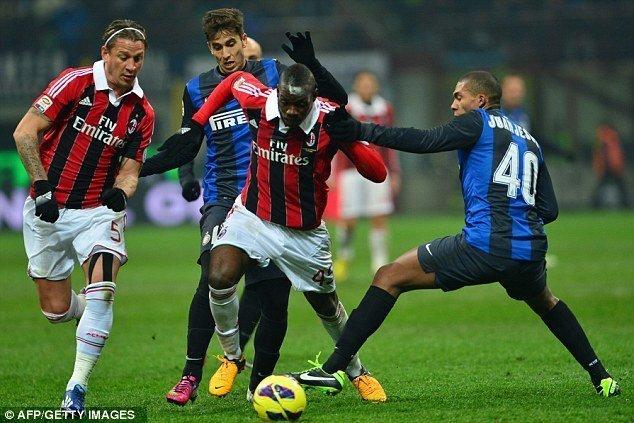 Inter Milan - AC Milan ngày 15/4/2017 Vòng 32 giải VĐQG Italia Ý serie A